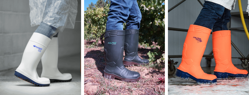 Wellington boots for Food Industry, Industry, Construction, Gardening and Agriculture